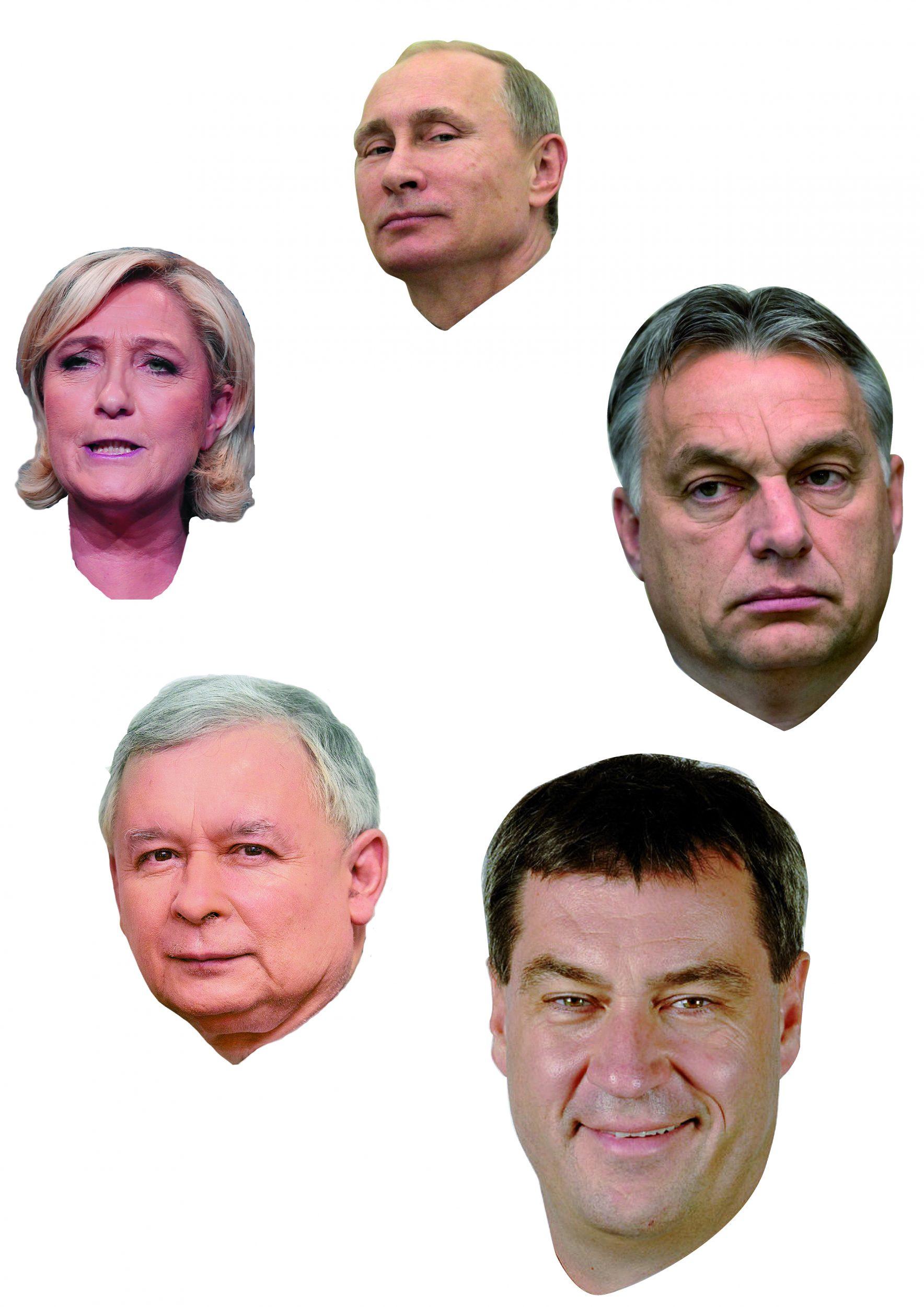 Porträts des Grauens
